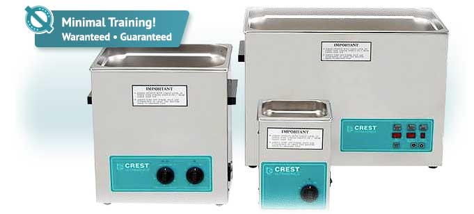 Crest Benchtop Ultrasonic Cleaners