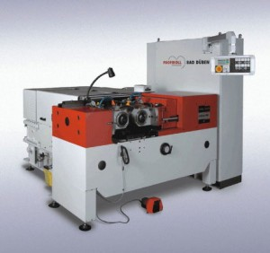 Profiroll machine